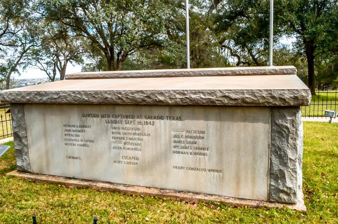 Dawson Massacre Tomb, La Grange Texas