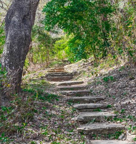 trail, La Grange Texas