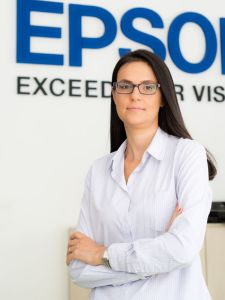 Simona Decuseara Sales & Marketing Manager Epson Romania si Bulgaria