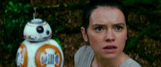 Star Wars: The Force Awakens L to R: BB-8 and Rey (Daisy Ridley) Ph: Film Frame © 2014 Lucasfilm Ltd. & TM. All Right Reserved.