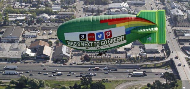 Greenpeace: Apple, Google și Facebook fac progrese, Netflix, Amazon Web Services și Samsung bat pasul pe loc