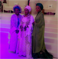 Photos from Atiku Abubakar's 3 daughter's wedding ceremony in Adamawa State on Friday, November 13, 2015.