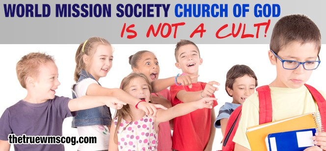 """World Mission Society Church of God is Not a """"Cult"""""""
