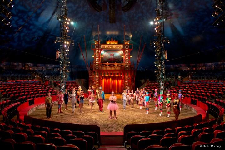 Big Apple Circus The Tutu Project Group Shot