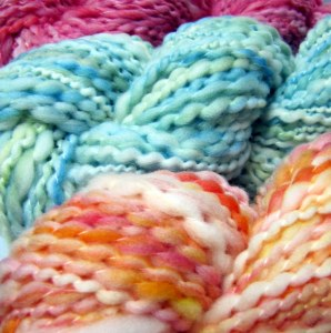 Spring Handspun Yarn Set