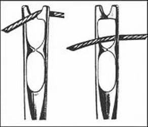 Self-Threading Needles: