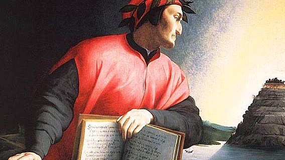 Image of Dante by Agnolo Bronzino