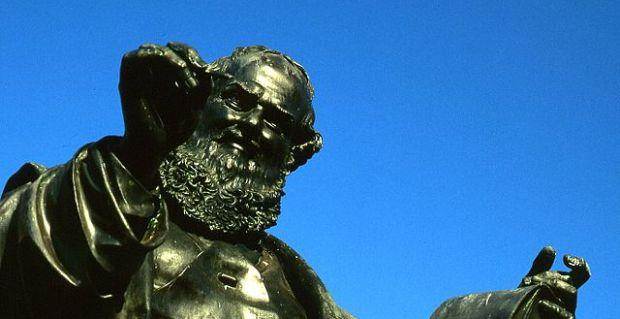 Statue of Hans by Johann Konrad Krausser (photo by T. Voekler)