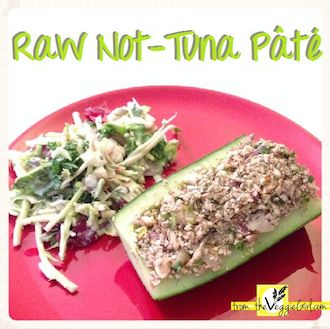 Raw Not-Tuna Pâté