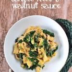 Recipe: Pappardelle with Cavolo Nero & Walnut Sauce