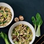 Recipe: Shiitake Miso Noodle Bowl