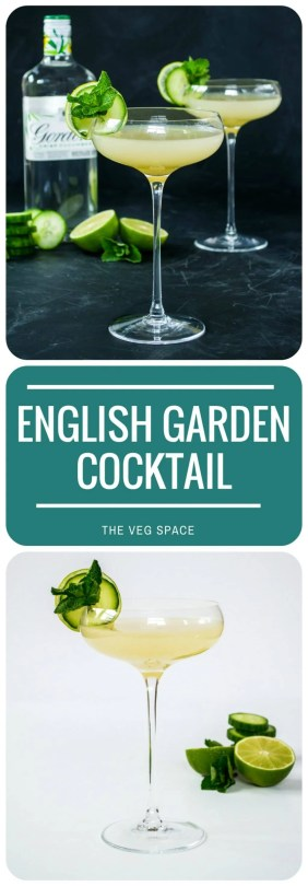 English Garden Gin Cocktail