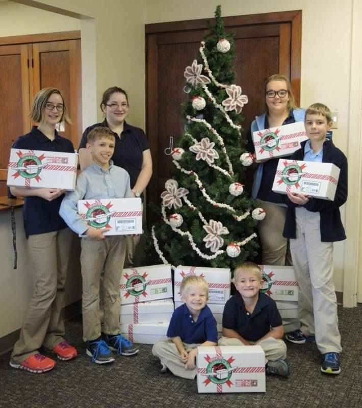 Fountain City Christian Students Work To Make Christmas A Little Brighter For Others