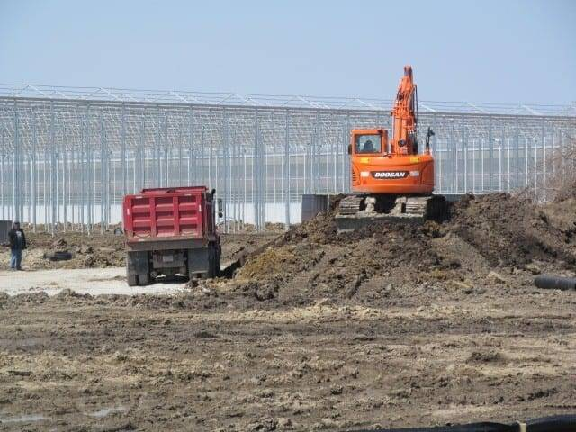 Third Greenhouse Under Way At Nature Fresh Farms Site In Delta