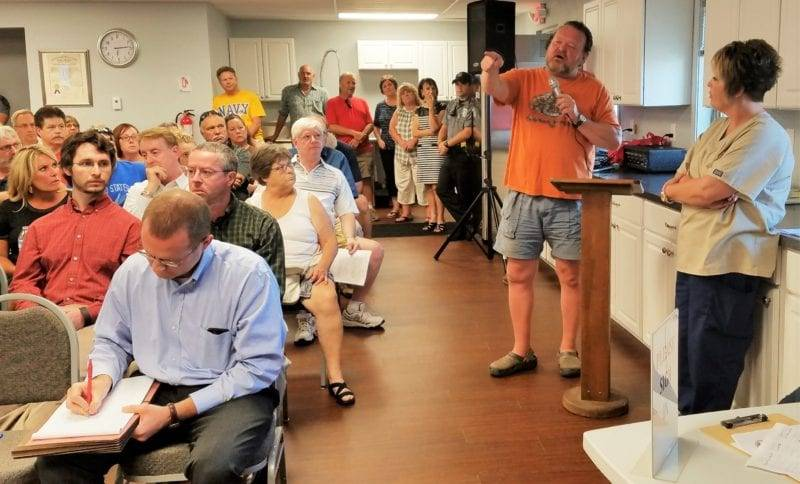 Swanton Holds Special Meeting To Allow Residents To Express Concerns With Proposed Rail Yard