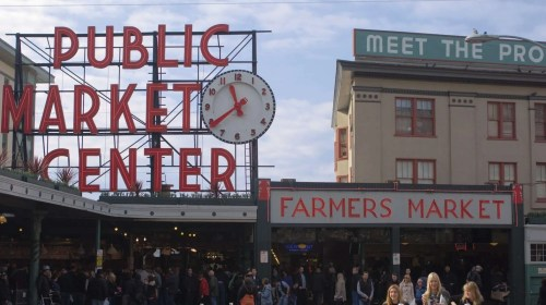 Pike Place Market – Seattle
