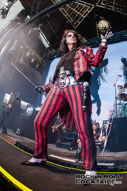 Alice Cooper Performing Live at Shoreline Amphitheatre in Mountain View (13 of 13)