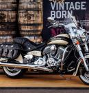 #001 LIMITED EDITION JACK DANIEL'S INDIAN CHIEF VINTAGE MOTORCYCLE AUCTIONED AT BARRETT-JACKSON LAS VEGAS