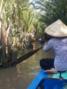 Enjoying the nature of the Mekong Delta