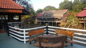Amazing guesthouse we stumbled upon in the Delta during my first motorbike trip