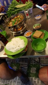 Some amazing hot pot down Hẻm 1 (Hot Pot Alley) in Can Tho
