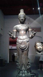 Buddhas of all shapes, sizes, and hand gestures at the National Museum.