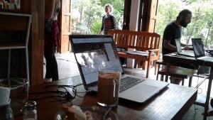 Working in Pai has been the most relaxing work atmosphere I've ever been a part of!