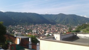 The view of Brasov, just a few steps from my grandparents house. Another beautiful, stress free environment