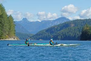 Kayaking doesn't get much better than this. BC can be wild, beautiful, and serene!