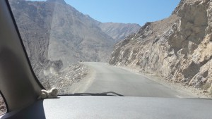 The road out of Leh to Northern Ladakh was windy, narrow, and steep, but our driver was a champ and navigated it expertly