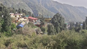View of Bagsu in Dharamsala. Enjoy its chills!