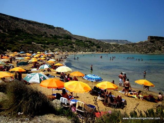 Tuffieha Bay, Malta