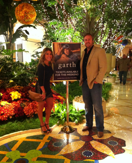 Garth in Las Vegas