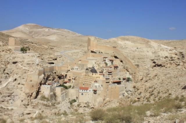 Mar Saba Monastery, Judean Desert, West Bank