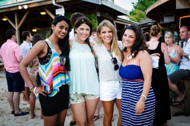 Elvis' Beach Bar, Wedding Cocktail Party, Anguilla