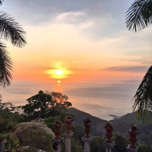 Sunset at Villa Caletas, Jaco, Costa Rica