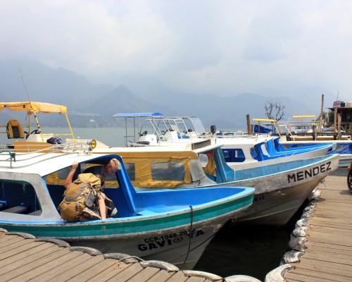 Exploring Lake Atitlan by Boat | The Wanderlust Effect Travel Blog