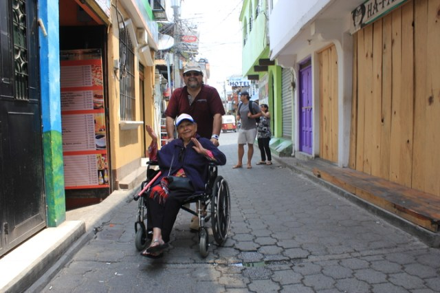 Handicap Accessibility in Lake Atitlan, Guatemala