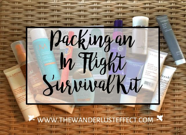 In-Flight Survival Kit for Long-Haul Flights