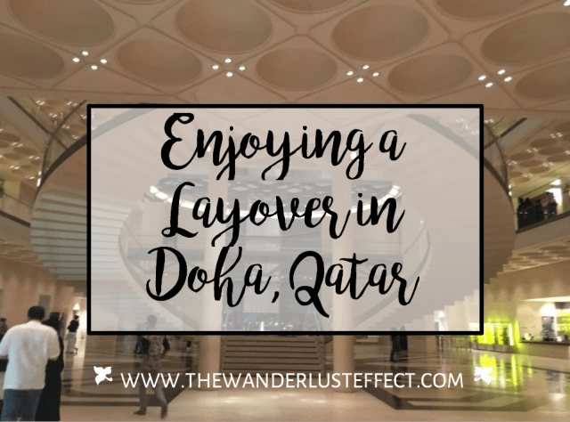 Layover in Doha, Qatar