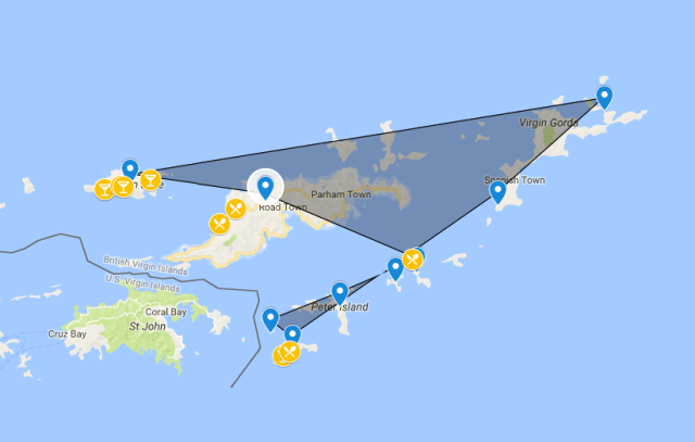 BVI Island Hopping Itinerary