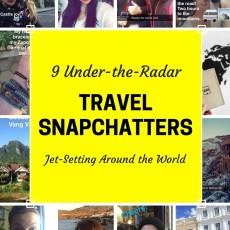 9 Under-the-Radar Travel Snapchatters Jet-Setting Around the Globe
