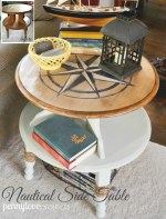 Rummage Redesign: A Nautical Side Table