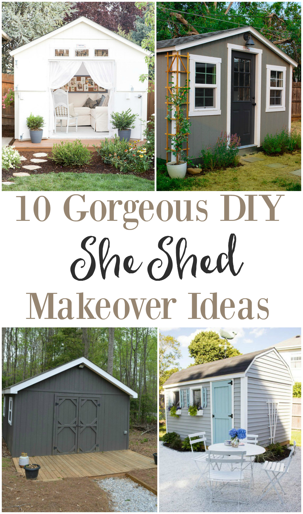 Examplary Diy She Shed Makeover Se Ladies Turned A Tool Shedinto A She Shed Makeover Ideas Weared Fox Cheap Easy Backyard Makeovers Inexpensive Backyard Makeover Ideas outdoor Easy Backyard Makeover
