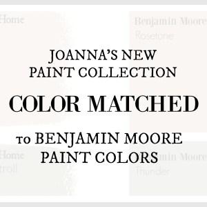 Fixer Upper Paint Colors