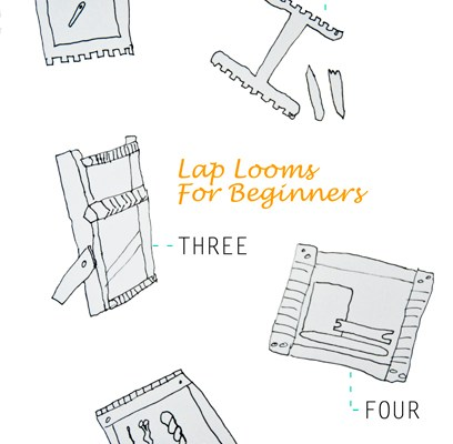 Beginner Lap Looms | The Weaving Loom