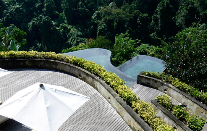 Hanging Gardens Ubud Bali - 25 Must-See Honeymoon Resorts In Asia. www.theweddingnotebook.com