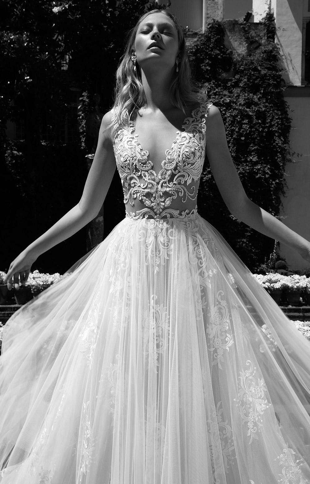 CHRISTINE - Alon Livne 2017 Bridal Collection. www.theweddingnotebook.com