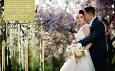 Photo: HRM Photography | Gatsby Glam in Storybook Gardens, London Weddings