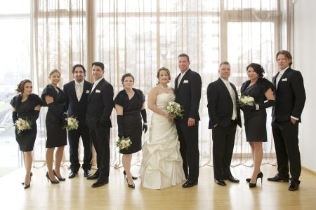 Julie & Kevin's Rebel Creek Wedding | Photo: Stan Switalski